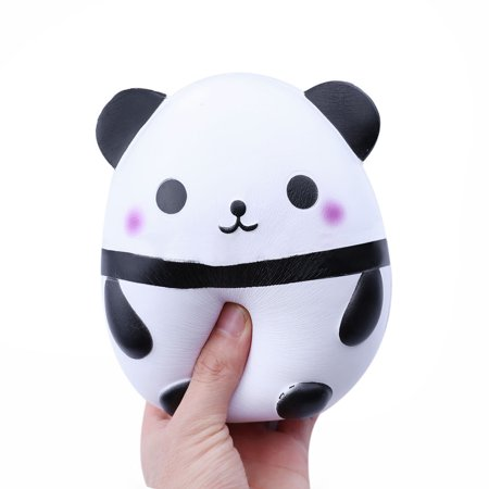Mosunx Jumbo Cute Panda Squishies squishy Slow Rising Kids Toys Doll Stress Relief (Prada Children)