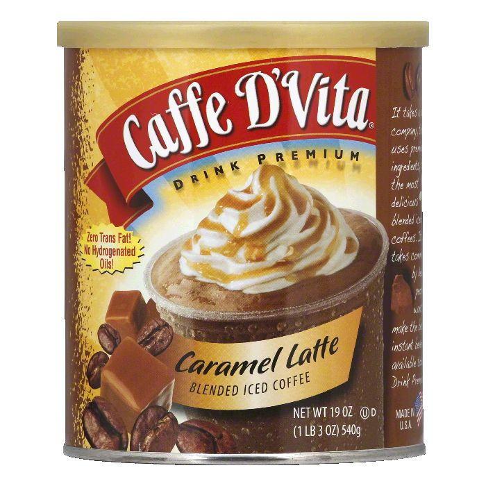 Brad Barry Caffe D Vita  Iced Coffee Drink, 19 oz