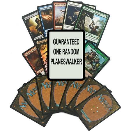 Magic The Gathering Guaranteed Planeswalker Lot (Uncommons, Foils, Rares & Guaranteed