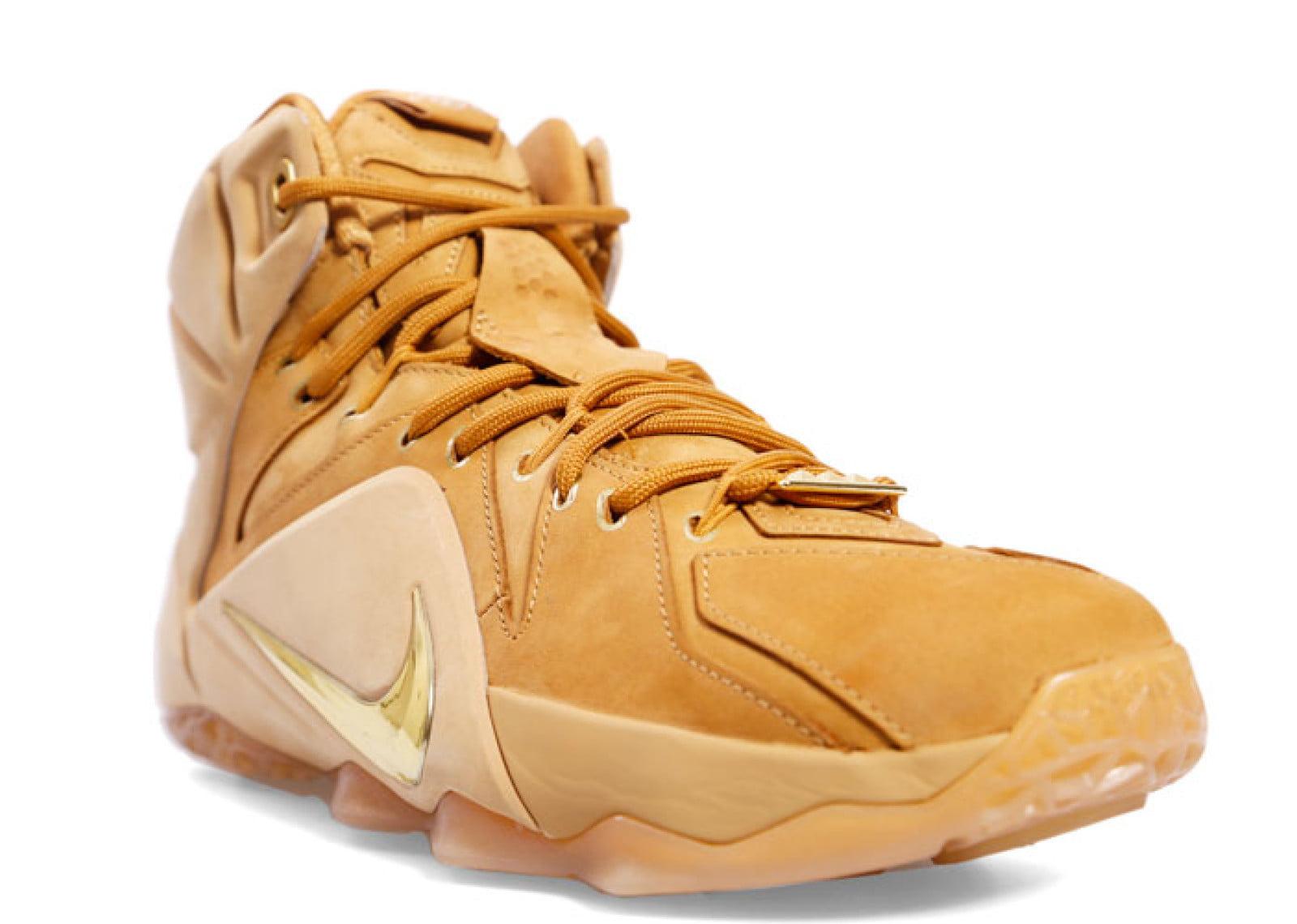 Nike - Men - Lebron 12 Ext 'Wheat