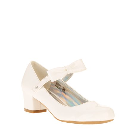 Wonder Nation Girls' Bow Dress Pump