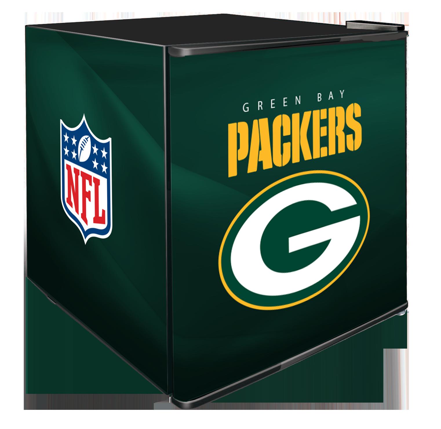 NFL Solid Door Refrigerated Beverage Center 1.8 cu ft- Green Bay Packers