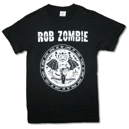Rob Zombie Devil Seal Black T Shirt - Rob Zombie Halloween Hoodie