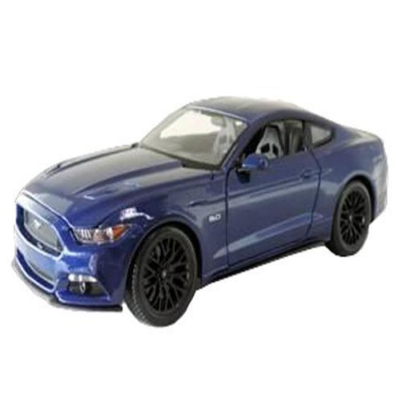 2015 Ford Mustang GT 5.0 Blue 1 18 by Maisto 31197 by Maisto by