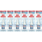 6 Pack - NeilMed NasoGEL For Dry Noses, Drip Free Gel Spray 1 fl oz Bottle Each