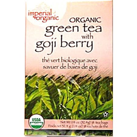 Green oncle Lee Imperial Organic Tea BERRY 18 sachets de thé