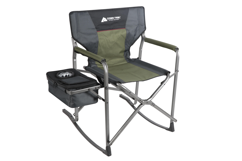 Amazing Ozark Trail Hazel Creek Director Rocking Chair Inzonedesignstudio Interior Chair Design Inzonedesignstudiocom