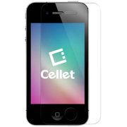 Cellet Ultra-Thin High Transparency Tempered Glass Screen Protector for Apple iPhone 4/4s