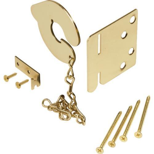 Steel Keyless Door Anchor Bolt Brass