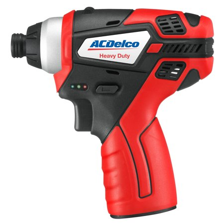 ACDelco G12 Compact 12V Li-ion Cordless Impact Driver, 82 ft-lbs torque, Bare Tool, (Ultra Torque Compact)