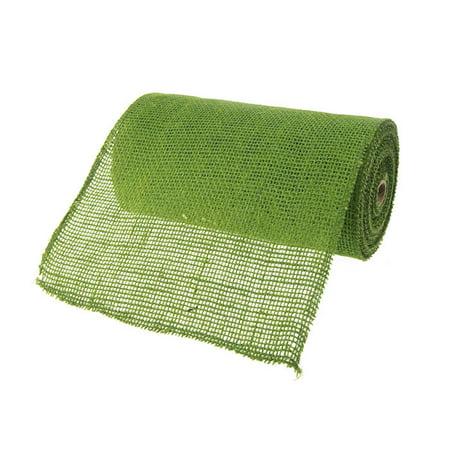 Burlap Rolls Jute Fabric, 9-inch, 10-yard, - Green Burlap