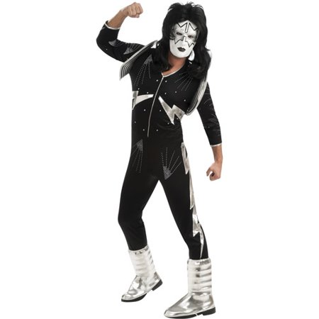 Halloween Costume Ideas French Kiss (KISS The Spaceman Deluxe Adult Halloween)