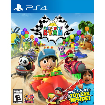 Walmart Exclusive: Race With Ryan, Outright Games, PS4