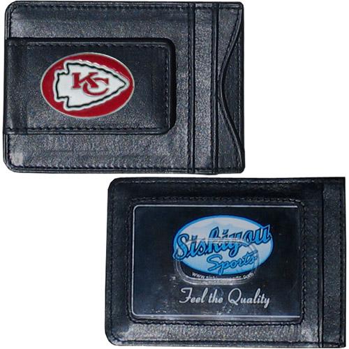 NFL - Money Clip and Cardholder,  Kansas City Chiefs