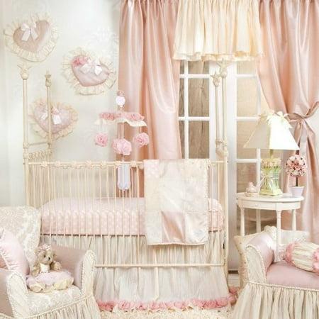 Glenna Jean Victoria 3 Piece Bedding Set Glenna Jean Baby Bedding Flower