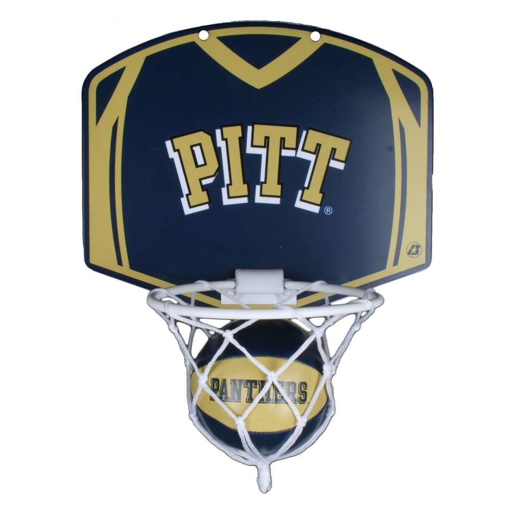 Pittsburgh Panthers Mini Basketball And Hoop Set