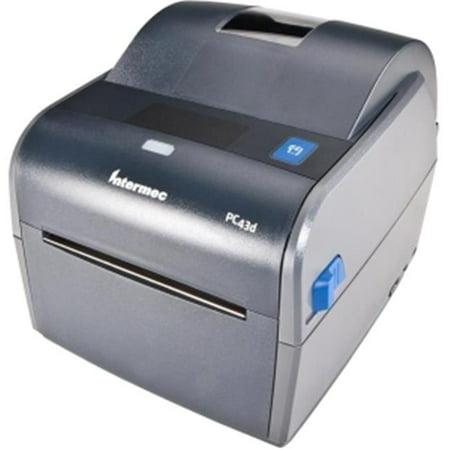 Intermec Interface (Intermec Desktop Printers PC43DA00000201 4 in. PC43d - Intermec Direct Thermal Printer with USB Interface, 203dpi Icon Power)