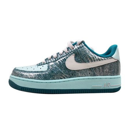 Nike Women's Air Force 1 '07 Radiant Emerald/Swan-Vaporize 315115-311