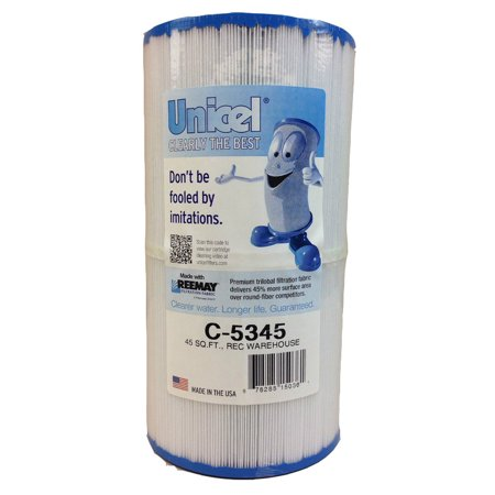 Unicel C-5345 Spa Replacement Cartridge Filter 45 Sq Ft Rec Warehouse Waterway
