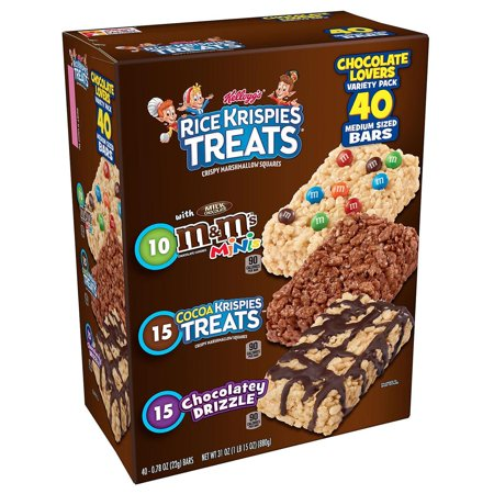 Kellogg's Rice Krispies Treats Variety Pack (40 ct.) (Rice Krispies Halloween Treats)