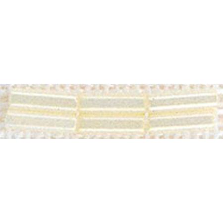 Mill Hill Small Glass Bugle Beads 2.5mmX6mm 3.1g-Cream