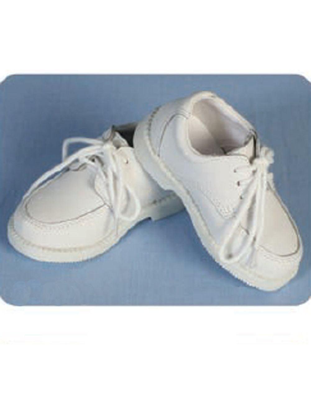 Angels Garment Toddler Little Boy 5-4 White Top Sider Christening Shoe