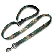 Strapworks DL6PL1 1 W inch Deluxe Line Fast Tie Out Adjustable Leash - 6 ft.
