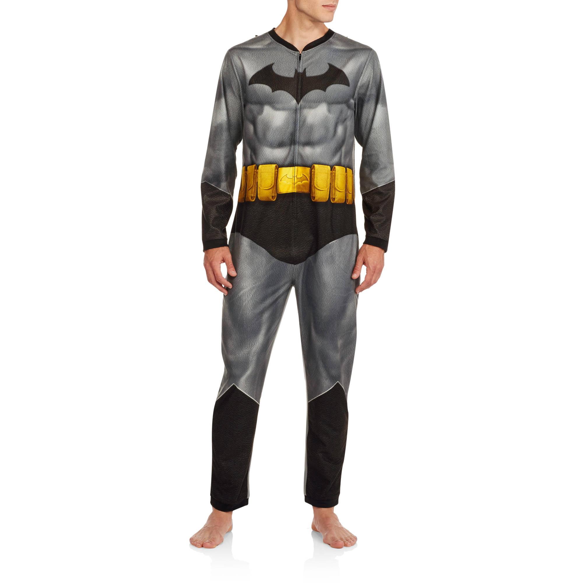 Batman Men's Onesie Dark Knight Union Suit