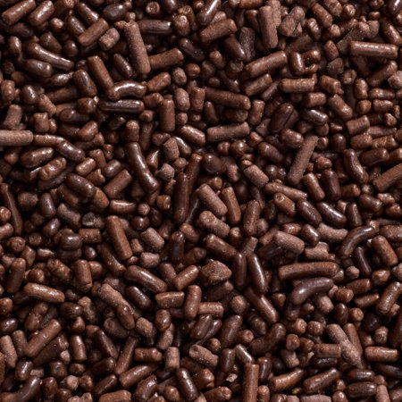 - Brown Chocolate Jimmies Edible Sprinkles 3.2 oz - National Cake Supply