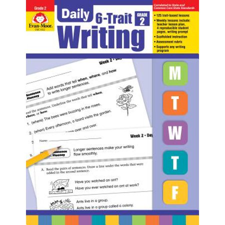 Daily 6-Trait Writing, Grade 2