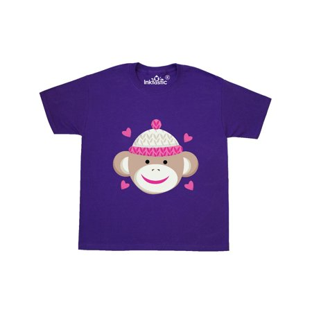 Sock Monkey Youth T-Shirt (Sock Monkey Infant Clothes)