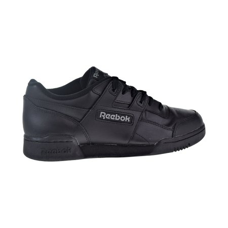 Reebok Workout Plus Men's Shoes Charcoal Black