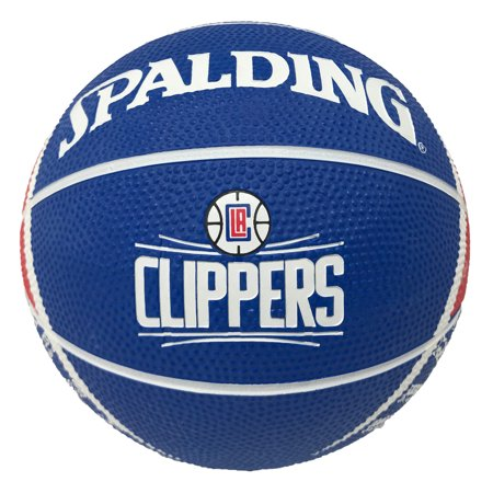 Spaulding - NBA 7 Inch Mini Basketball, Los Angeles Clippers