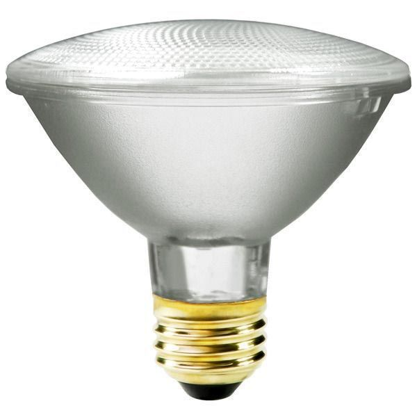 55W PAR30 Halogen Light Bulb - Flood, 120V, 55PAR30/ECO/FL/120 - Plusrite 3503