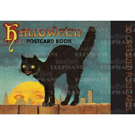 Halloween Postcard Book - Halloween Action Cards