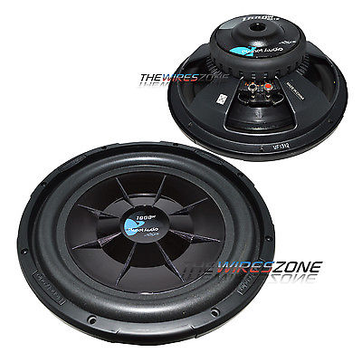 "Planet Audio PX12 12"" 1000 Watt Single Voice Coil Shallow Car Audio Subwoofer"
