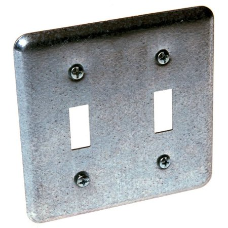 HubbellRaco 2 Device Switch Box Cover with 2