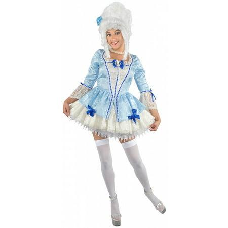 Marie Antoinette Adult Costume - - Halloween Costumes Marie Antoinette