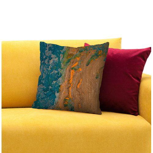 East Urban Home Sea of Gratitude Throw Pillow