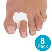Toe Separators for Bunions - Toe Spacers, Hammer Toe Straightener, Correct Toes and Bunion Relief