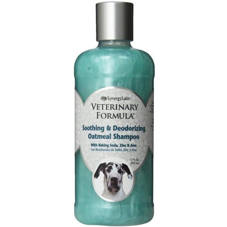 Veterinary formula soothing and deodorizing oatmeal shampoo, 17-oz bottle
