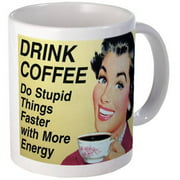 CafePress Drink Coffee Vintage Mug