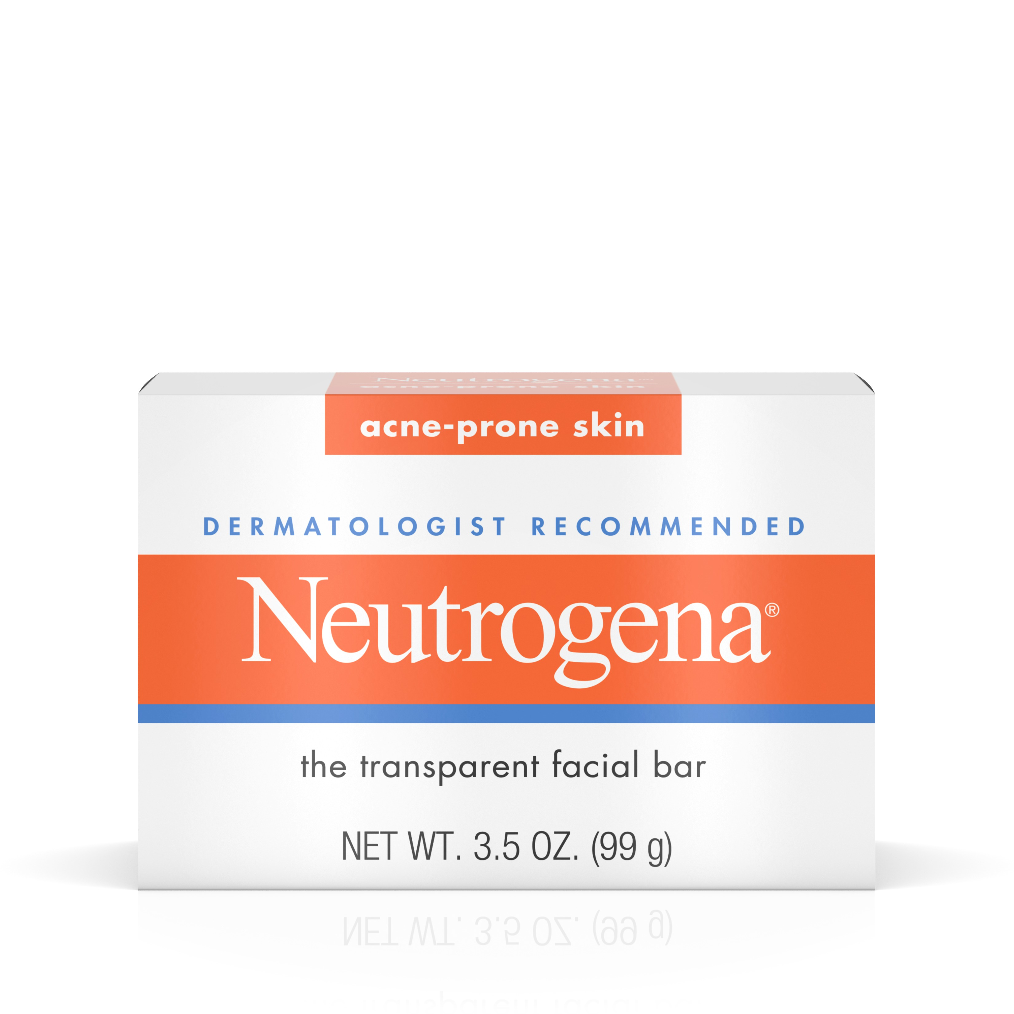 Neutrogena Facial Cleansing Bar Treatment For Acne-Prone Skin, 3.5 Oz. - Walmart.com