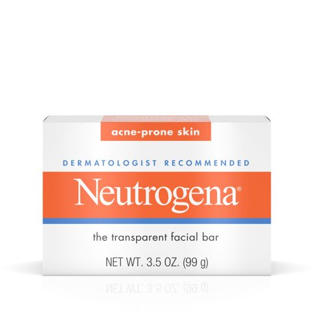 Neutrogena Facial Cleansing Bar Treatment For Acne-Prone Skin, 3.5 Oz.