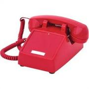 Cortelco 250047VBANDL Standard Phone - Red ITT-2500NDL-RD