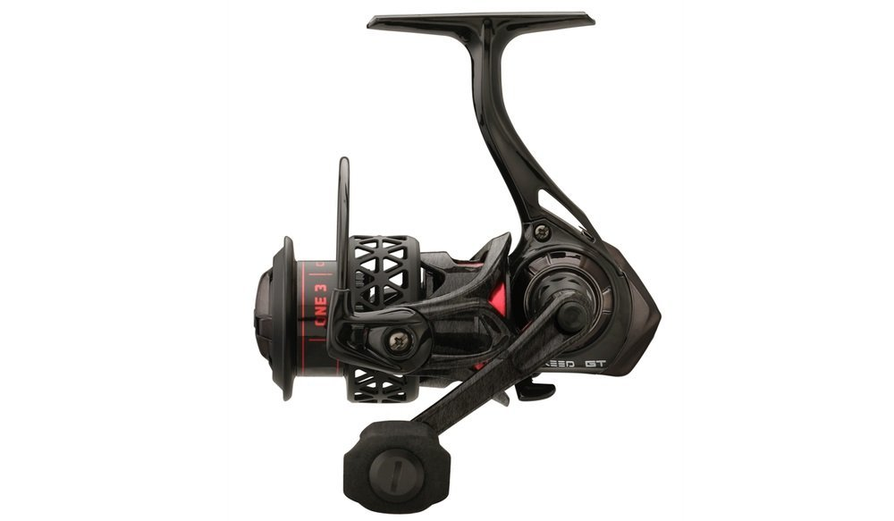 13 Fishing One 3 Creed GT 2000 Spinning Reel, Red by 13 Fishing