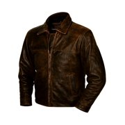 StS Ranchwear Western Jacket Boys Rifleman Leather Brown STS5463