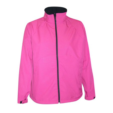 66bf195ad78 Pulse Womens Plus Size Micro Fleece Soft Shell Jacket - Walmart.com