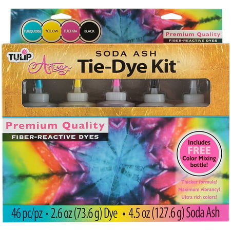 Tulip Artisan Soda Ash Tie-Dye Kit- - Tie Dye Bottles