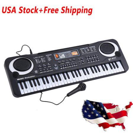 61 Key Children's Digital Keyboard Music Piano Keyboard On Sale for Adults Or Children... by konxa